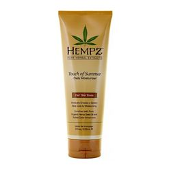 Hempz Touch of Summer Fair Skin Tonea - Молочко для тела с бронзантом светлого оттенка 235 мл