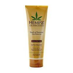 Hempz Touch of Summer Medium Skin Tonea - Молочко для тела с бронзантом темного оттенка 235 мл
