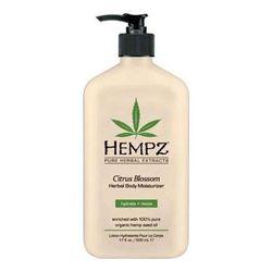 Hempz Citrus Blossom Herbal Body Moisturizer - Молочко для тела увлажняющее с лимоном 500 мл