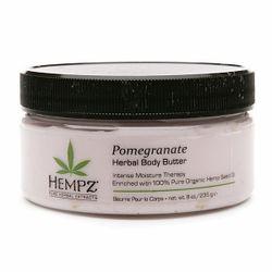 Hempz Pomegranate Body Butter - Крем питательный для тела с гранатом 235 гр