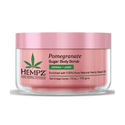 Hempz Sugar & Pomegranate Body Scrub - Скраб для тела сахар и гранат 176 гр