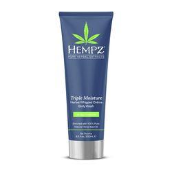 Hempz Triple Moisture Herbal Body Wash - Гель для душа тройное увлажнение 250 мл
