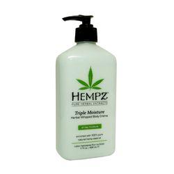 Hempz Herbal Body Triple Moisture - Молочко для тела тройное увлажнение 500 мл