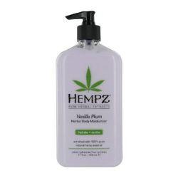 Hempz Vanilla Plum Herbal Body Moisturizer - Молочко для тела увлажняющее слива и ваниль 500 мл