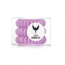 Hair Bobbles HH Simonsen Lila 3-Pack - Резинка-браслет для волос, сиреневая