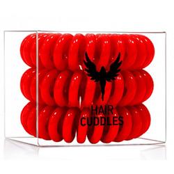 Hair Bobbles HH Simonsen - Резинка-браслет для волос, красная, 3 штуки