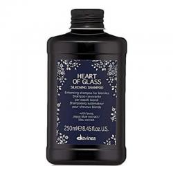 Davines Heart Of Glass Silkening Shampoo - Шампунь для сияния блонд 1000 мл