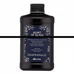 Davines Heart Of Glass Silkening Shampoo - Шампунь для сияния блонд 90 мл