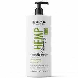 Epica Hemp Therapy Сonditioner - Кондиционер для роста с маслом семян конопли, AH и BH кислотами 1000мл