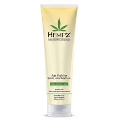 Hempz Age Defying Glycolic Herbal Body Scrub - Скраб для тела, Антивозрастной, 265 гр