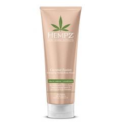 Hempz Coconut Fusion Energizing Herbal Body Wash - Гель для душа, Бодрящий Кокос, 250 мл