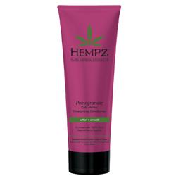 Hempz Hair Care Daily Herbal Moisturizing Pomegranate Conditioner - Кондиционер для волос разглаживающий, Гранат, 265 мл