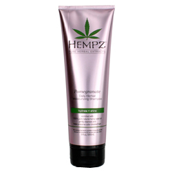 Hempz Hair Care Daily Herbal Moisturizing Pomegranate Shampoo - Шампунь увлажняющий, Гранат, 265 мл