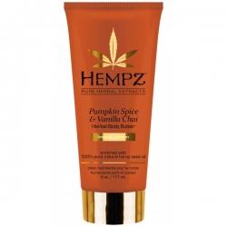 Hempz Body Pumpkin Spice & Vanilla Chai Herbal Body Butter - Крем питательный для тела Тыква и Ваниль 177мл