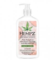 Hempz Pink Pomelo & Himalayan Sea Salt Herbal Body Moisturizer - Молочко для тела увлажняющее Помело и Гималайская соль, 500 мл