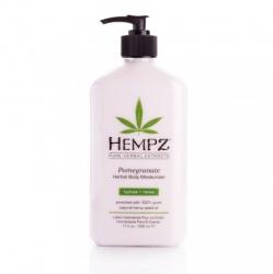 Hempz Pomegranate Herbal Body Moisturizer - Молочко для тела увлажняющее Гранат, 620 мл