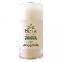 Hempz Sensitive Skin Soothing Herbal Body Balm - Бальзам для тела увлажняющий, Чувствительная кожа, 76 гр