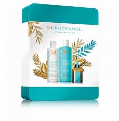 Moroccanoil - Праздничный набор Volume (шамп+конд+масло)