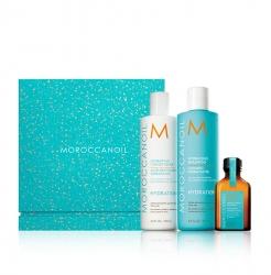 Moroccanoil - Праздничный набор Hydration «from all angles» (шамп+конд+масло)