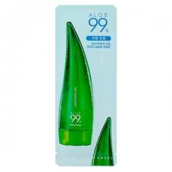 "Holika Holika Aloe 99% Soothing Gel Gelly Mask Sheet - Тканевая маска с 99% алоэ вера ""Алоэ"", 23 мл"