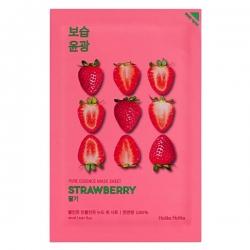 Holika Holika Pure Essence Mask Sheet Strawberry - Освежающая тканевая маска, клубника, 20 мл