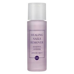 "Holika Holika Nails Remover Sensitive Lavender - Жидкость для снятия лака ""Лаванда"" , 100 мл"