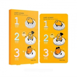 Holika Holika Gudetama Pign-ose 3- step kit - Трехступенчатый набор для очистки пор, 10 шт