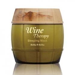 Holika Holika Wine Therapy Sleeping Mask White Wine - Ночная винная маска-желе, белое вино, 120 мл