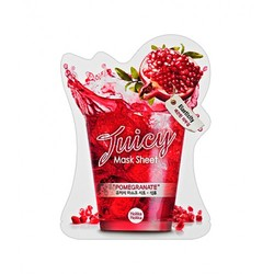"Holika Holika Juicy Mask Sheet Pomegranate -Тканевая маска для лица ""Джуси Маск"" Сок Граната, 20 мл"