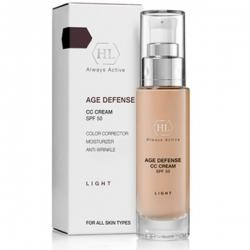 Holy Land Age Defense Cc Cream Light - Корректирующий крем SPF50, 50 мл