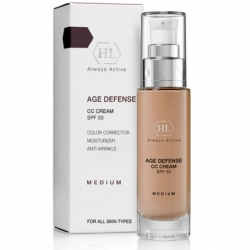 Holy Land Age Defense Cc Cream Medium - Корректирующий крем SPF50, 50 мл