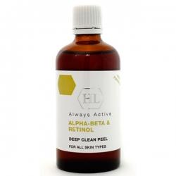 Holy Land PROF Alpha-Beta & Retinol Deep Clean Peel - Увлажняющий пилинг для всех типов кожи 100мл