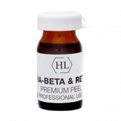 Holy Land PROF Alpha-Beta & Retinol Premium Peel - Премиум пилинг химический выравнивающий 7мл