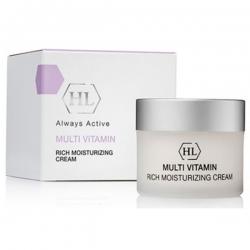 Holy Land Multivitamin Rich Moisturizing Cream - Увлажняющий крем с комплексом витаминов, 50 мл