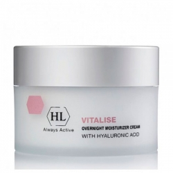 Holy Land PROF Vitalise overnight moisturizer cream - Крем ночной смягчающий, питательный, 250 мл