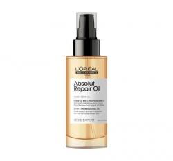 L'Oreal Professionnel Absolut Repair Gold Oil - Масло 10 в 1 для восстановления поврежденных волос, 90 мл