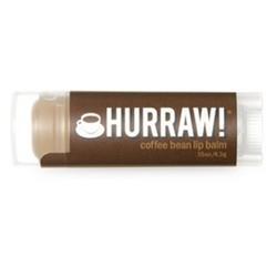 Hurraw Balm Coffee Bean - Бальзам для губ, Кофейное зерно, 4,3 мл