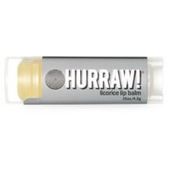Hurraw Balm Licorice - Бальзам для губ, Лакрица, 4,3 мл