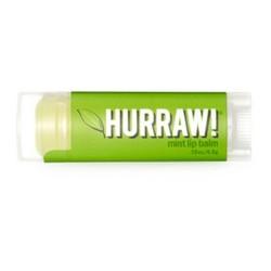 Hurraw Balm Mint - Бальзам для губ, Мята, 4,3 мл
