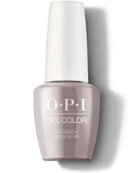 OPI Iceland Gel Color - Гель-Лак для ногтей Icelanded a Bottle of OPI, 15 мл