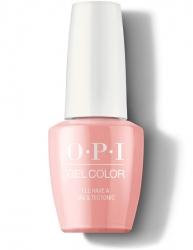 OPI Iceland Gel Color - Гель-Лак для ногтей I'll Have a Gin & Tectonic, 15 мл