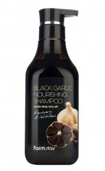 FarmStay Black Garlic Nourishing Shampoo - Шампунь питательный с экстрактом чёрного чеснока, 530 мл