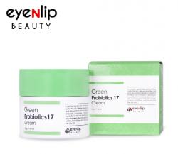 Eyenlip Green Probiotics 17 Cream - Увлажняющий крем для лица, 50 гр
