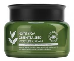 FarmStay Green Tea Seed Moisture Cream -  Крем увлажняющий с семенами зеленого чая, 100 мл