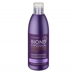Concept Color shade balsam for blond&blonded hair ARCTIC EFFECT - Бальзам оттеночный, эффект арктический блонд, 300 мл
