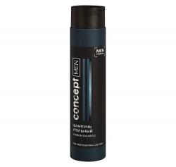 Concept Men Carbon shampoo - Шампунь угольный для волос, 300 мл