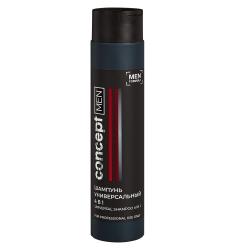 Concept Men Universal Shampoo 4 in 1 - Шампунь универсальный 4 в 1, для ежедневного применения, саше 15 мл