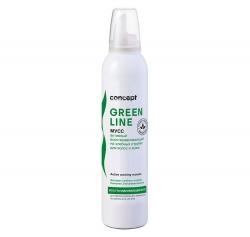 Concept GREEN LINE - Мусс активный восстанавливающий на хлебных отрубях для волос и кожи, 250мл