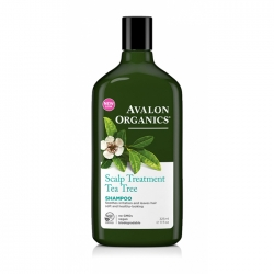 Avalon Organics Tea Tree Scalp Treatment Shampoo – Шампунь Чайное дерево, 325 мл