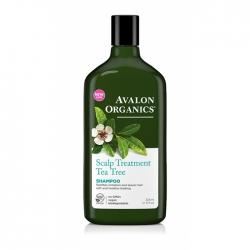 Avalon Organics Tea Tree Scalp Treatment Shampoo – Шампунь Чайное дерево, 325 мл